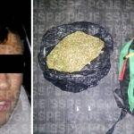 """Capturan en León a """"distribuidor de droga"""" con más de 700 dosis, al parecer droga"""