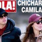Captan a Chicharito y Camila Sodi de romance en Paris