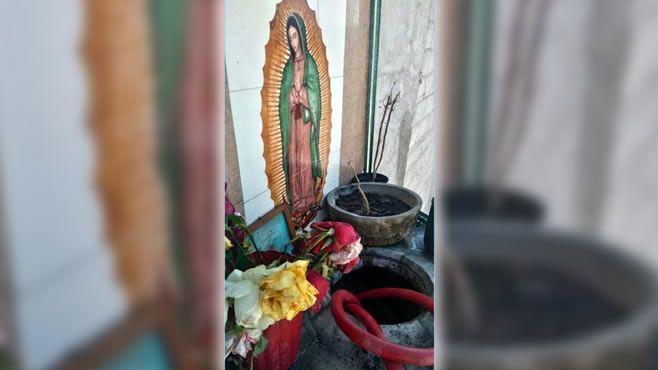 Photo of Aseguran toma clandestina disfrazada de altar a La Virgen