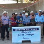 Inauguran ampliación y rehabilitación de Red de Distribución de Agua Potable en el Mármol