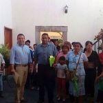 Antorchistas piden apoyos para 18 comunidades de Pénjamo