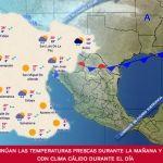Continúan las temperaturas frescas durante la mañana y noche, con clima cálido durante el día