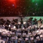 Irapuatenses disfrutan del repertorio de esta gran orquesta de la SEDENA