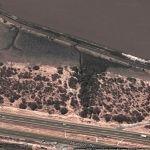 Google muestra la mancha de árboles de mezquite destruidos en Abasolo