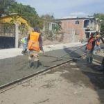 Obras Públicas continúa con 6 acciones de obra en diferentes puntos de la ciudad
