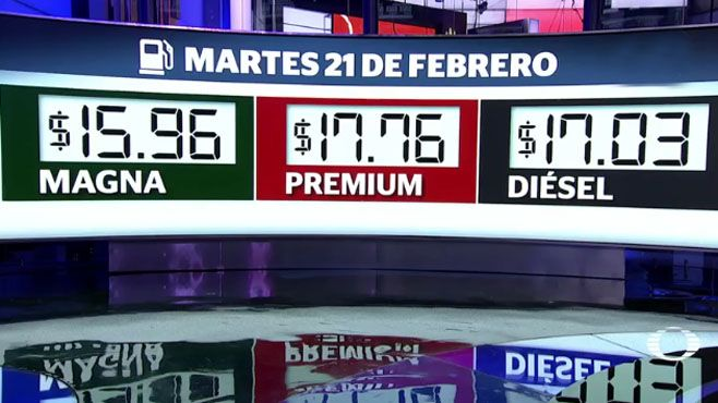 Precio de Magna y Premium bajan otro centavo