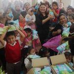 Se entregan litros de leche a más de mil familias neopoblanas