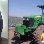 Detienen a ladrón de tractor en Abasolo