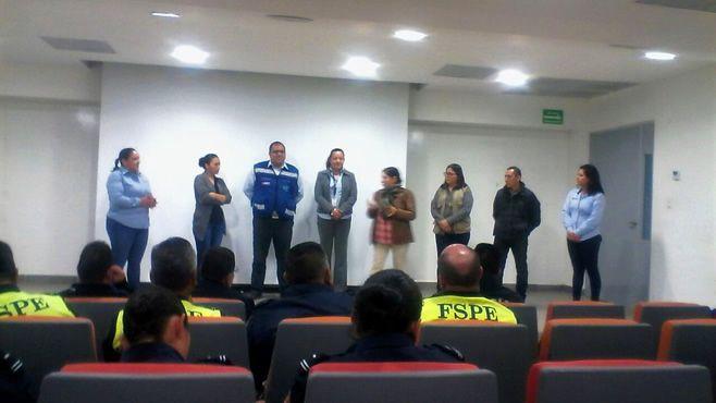 Photo of Continúan capacitaciones al Cuerpo de Seguridad Pública y Tránsito Municipal