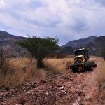 """Rehabilitan camino que lleva a la """"Garita"""""""