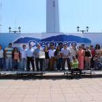 Entrega Guanajoven constancia de becas en Cuerámaro