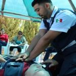 Protección Civil y Paramédicos enseñan primeros auxilios a encargados de balnearios