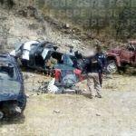 Localizan en León una bodega clandestina con vehículos de lujo y autopartes robadas