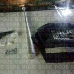Detienen en Celaya a un hombre con un arma de fuego de fabricación casera y sustancias tóxicas