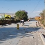 Alcalde supervisa pavimentación de la Calle Ignacio Allende en la Comunidad Los Ocotes