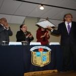 Reconocen labor del Dr. Arturo Pérez López en el Departamento de Música de la UG
