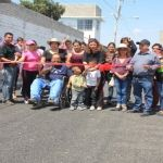 Concluyen labores de pavimentación en la calle Río Lerma