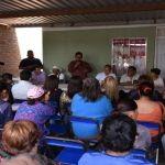Visita senador de la República comerciantes de Irapuato