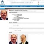 Busca Interpol a César Duarte en 190 países