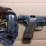 Aseguran en Pénjamo a menor, en posesión de un arma calibre .9 milímetros y cartuchos útiles