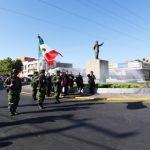 Rinde municipio y ayuntamiento honores a Benito Juárez