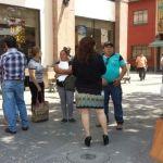 Ucopistas se manifiestan en Banorte
