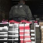 Más de 2 mil pares de calzado son confiscados en cateo