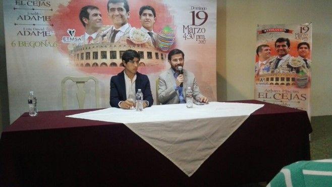"""Photo of Arturo Macías """"El Cejas"""", Joselito y Luis David Adame, una corrida de """"Revolución"""""""