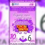Presidencia y DIF municipal preparan gran festejo para las mujeres