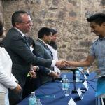 Reconocen a estudiantes destacados de la Escuela del Nivel Medio Superior de Guanajuato