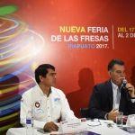 Presentan nueva feria de las fresas ante medios de comunicación de la ciudad de león