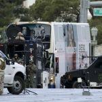 Hombre dispara dentro de autobús en Las Vegas; hay un muerto
