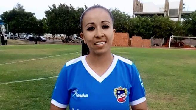 """Photo of """"De delantera a portera por lesión"""": Pamela Gutiérrez; """"Trinca"""" Femenil"""