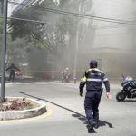 Apagan incendio en Polanco