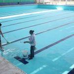 Por iniciar clases de natación en Pueblo Nuevo
