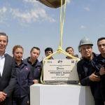 """Márquez Márquez, colocó la 1ª piedra del Instituto de Educación y Desarrollo """"Ricard E. Dauch"""""""