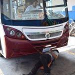 Inicia revista mecánica al transporte público de pasajeros