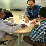 Alcalde realiza reuniones de trabajo en Secretarías Estatales