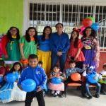 Entregan 5802 pelotas  a niños de Cuerámaro