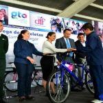 Arranca la Entrega de 3 Mil Bicicletas a Estudiantes en los 46 Municipios
