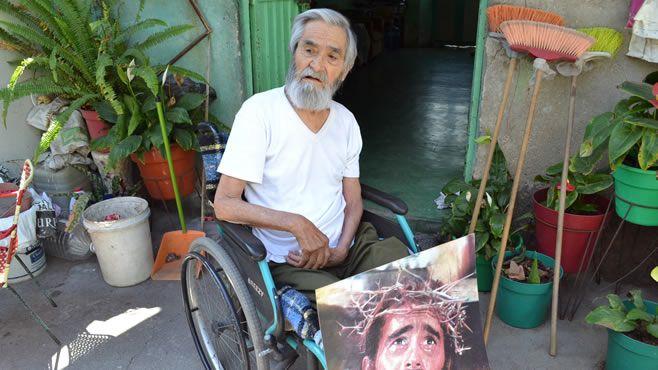 "Photo of El Cristo de Abasolo; ""Vivió la pasión de Jesucristo"" (Video)"