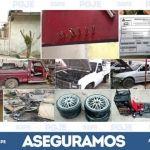Desmantelan PGJE y SSPE talleres en Irapuato y Celaya, donde alteraban y modificaban vehículos