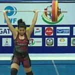 Mexicana gana plata y dos bronces en Mundial de Halterofilia en Tailandia
