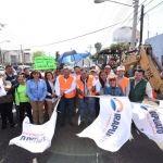 Alcalde pone en marcha trabajos de la Primera Etapa del Tercer Cinturón Vial