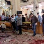 Doble atentado contra iglesias coptas causa al menos 37 muertos y un centenar de heridos