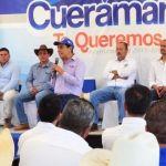 """Inician trabajos de rehabilitación y conformación de bordos en la presa """"La Alberca"""" en Tres Villas"""