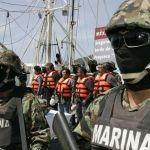 En fosas buscan a marinos desaparecidos en Veracruz