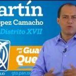 Martín López Camacho como el nuevo subsecretario de SDAyR de Celaya