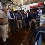 """""""Apoyamos y nos solidarizamos con los comerciantes del Mercado Hidalgo afectados por incendio"""": Ricardo Ortiz"""