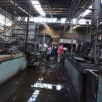"""Incendio en el Mercado Hidalgo """"prende focos rojos"""" en otros 5 mercados"""